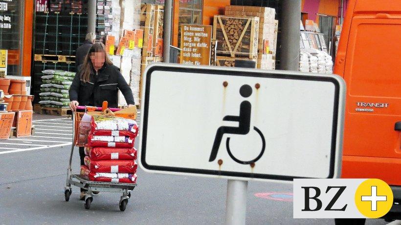 Knöllchen Supermarkt