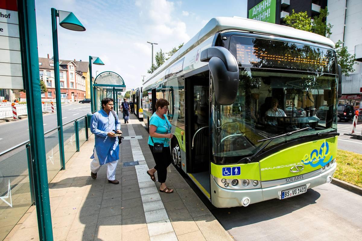 Neuer Takt Für Busse Und Bahnen In Braunschweig Ab 3