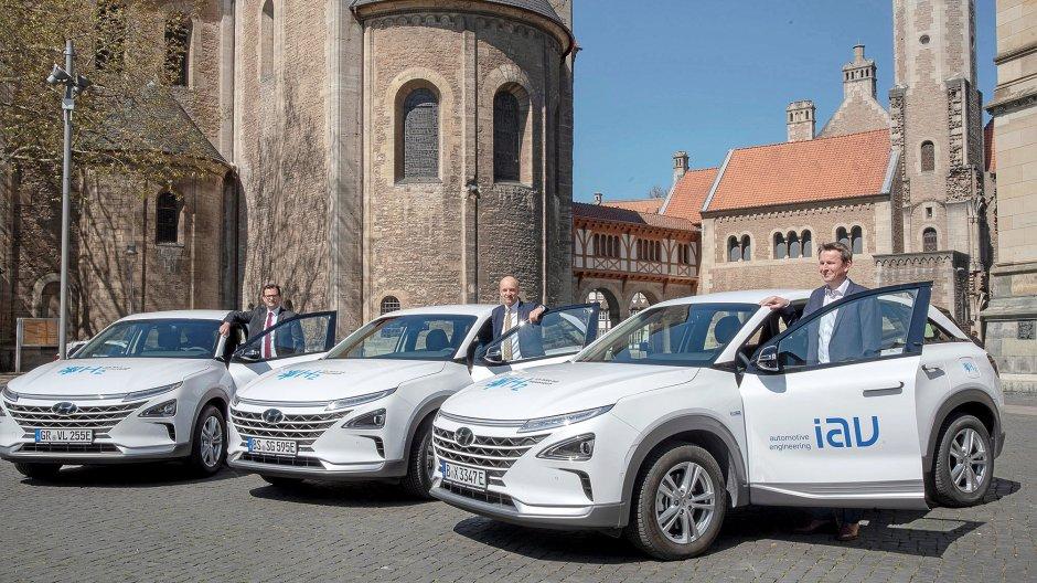 Braunschweig testet Wasserstoff-Autos