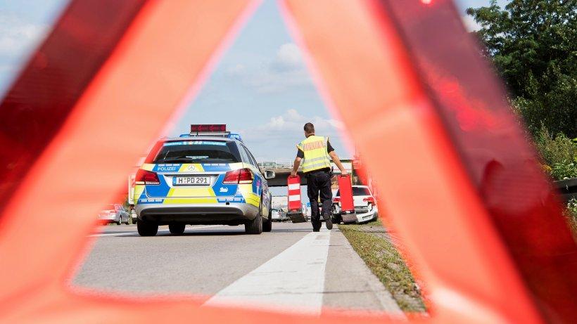 Unfall auf der A 39 bei Braunschweig-Süd: Heidbergtunnel gesperrt