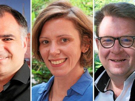 Sie vertreten Braunschweig im neuen Bundestag: Christos Pantazis (SPD) hat das Direktmandat gewonnen. Anikó Merten (FDP) und Carsten Müller (CDU) ziehen über die Landeslisten ein.