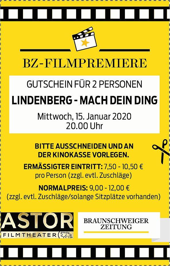 Die BZ-Filmpremiere zeigt Lindenberg – Mach Dein Ding!