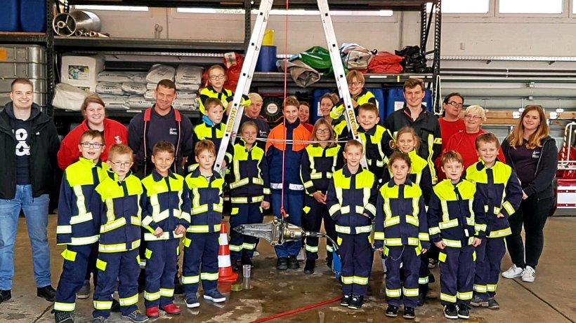 Helmstedt.: Feuerwehrnacht bei der Kinderfeuerwehr Helmstedt