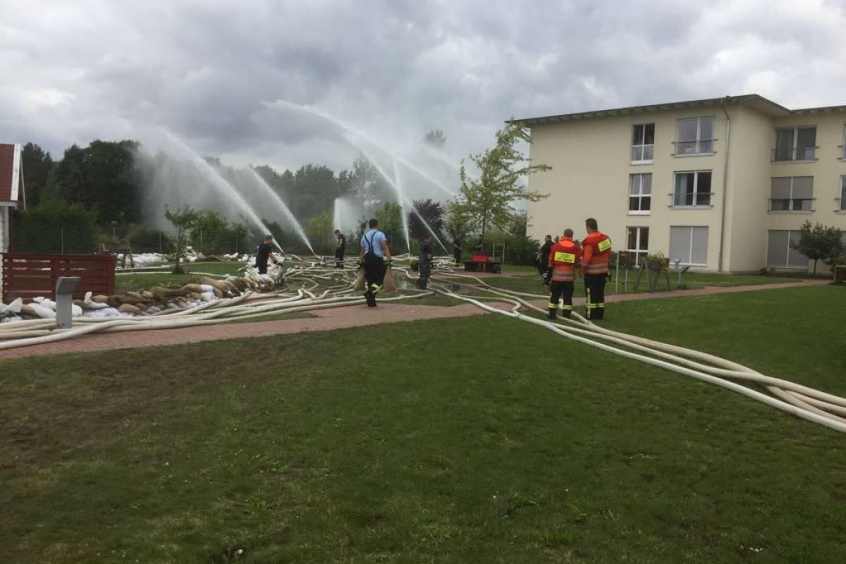 Hochwasser In Wolfenbüttel Kreis Hebt Katastrophenfall Auf
