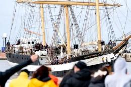 Schule auf See: Schüler kehren nach halbem Jahr auf Segelschiff zurück