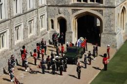Royal-Blog: Prinz Philips Trauerfeier live: Royals nehmen Abschied
