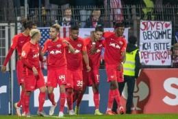 Leipzig,Hertha und Hoffenheim weiter - Schalke raus