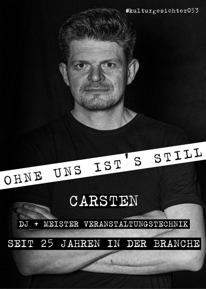 Carsten Warnk arbeitet als Veranstaltungstechniker und betreibt die Firma Sonolux in Braunschweig.