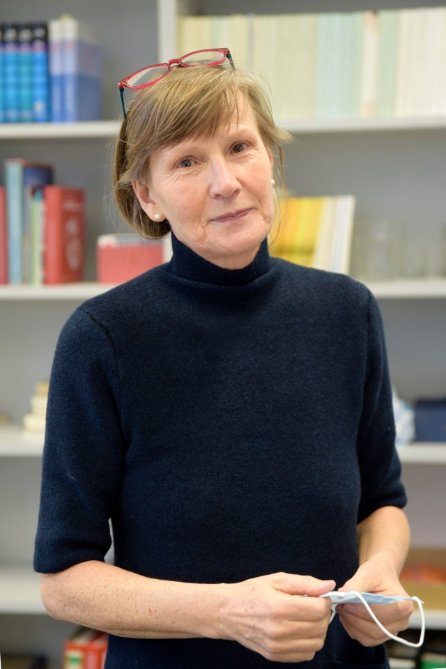 Anette Haucap-Naß leitet die Stadtbibliothek Braunschweig.