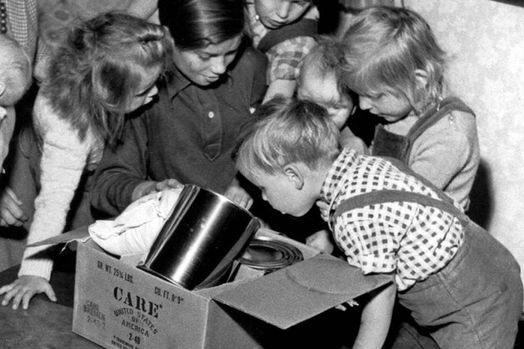 """Die Care-Pakete waren für uns wie Weihnachten"""" - Kultur ..."""