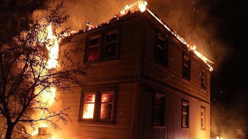 Waldpädagogikzentrum Harz durch Brand schwer beschädigt