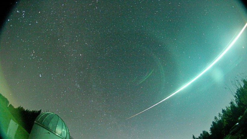 Feuerkugel über 90 Mal an vielen Orten Deutschlands gesehen
