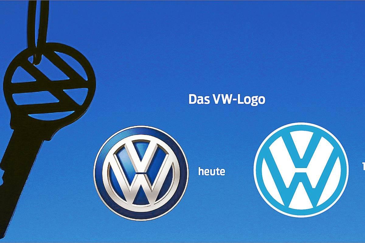 Volkswagen logo neu