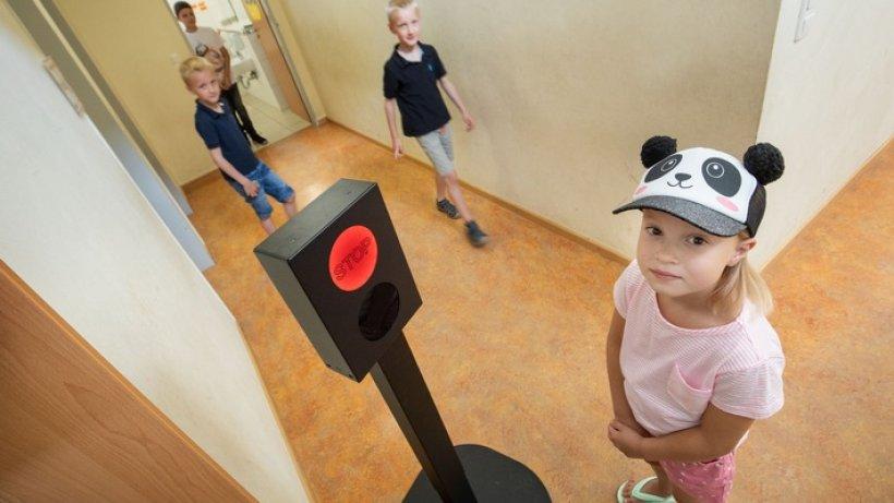 Grün Heißt Gehen / Testaufstellung Der C-Ampel In Den Grundschulen Gehlenbeck Und Nettelstedt