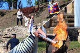 Olympische Flamme für Peking entzündet - erneuter Tibet-Protest