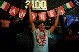 Nach 42 Tagen: Italiener gewinnt längstes Lauf-Event der Welt