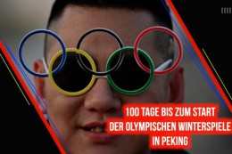 Olympia 2022 in Peking: 100 Tage bis zum Start