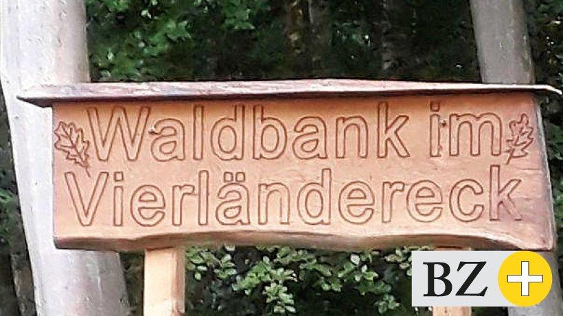 Vierländereck im Fürstenauer Holz - was bedeutet das